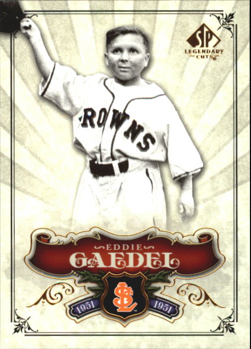 2006 SP Legendary Cuts #5 Eddie Gaedel