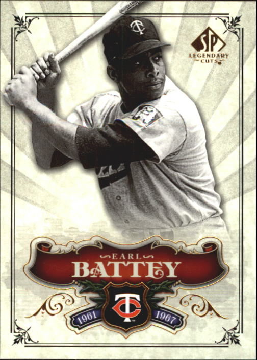 2006 SP Legendary Cuts #7 Earl Battey