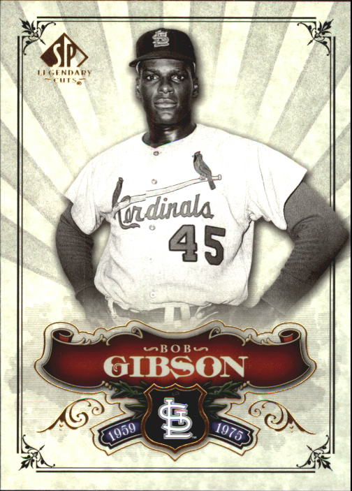 2006 SP Legendary Cuts #9 Bob Gibson