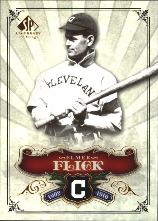 2006 SP Legendary Cuts #10 Elmer Flick