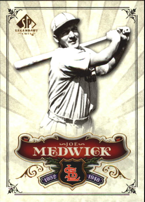2006 SP Legendary Cuts #11 Joe Medwick