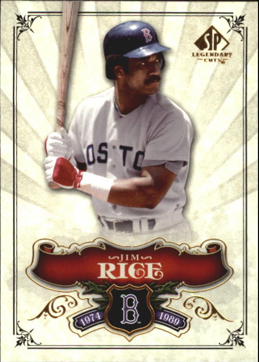 2006 SP Legendary Cuts #28 Jim Rice