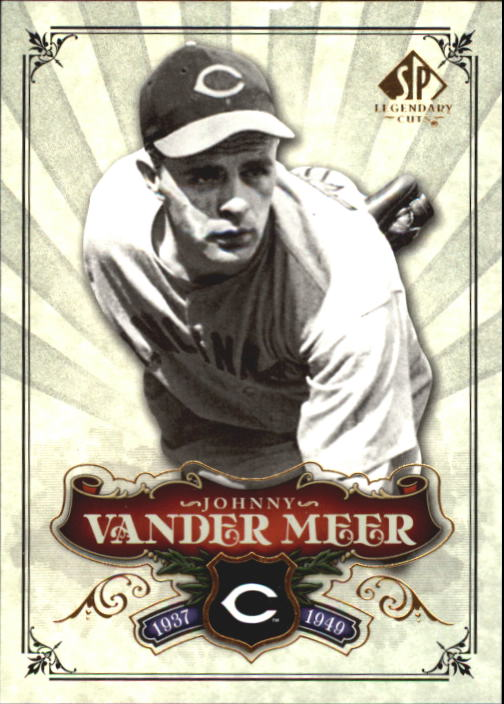 2006 SP Legendary Cuts #33 Johnny Vander Meer