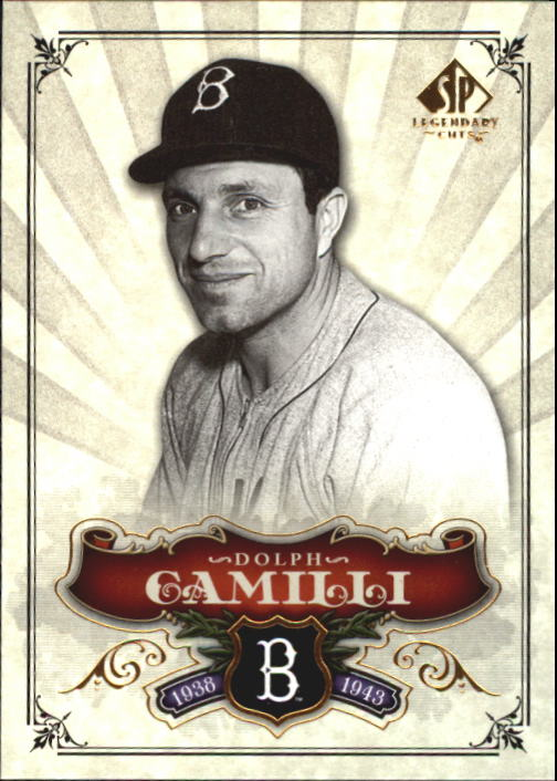 2006 SP Legendary Cuts #34 Dolph Camilli