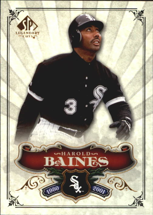 2006 SP Legendary Cuts #56 Harold Baines