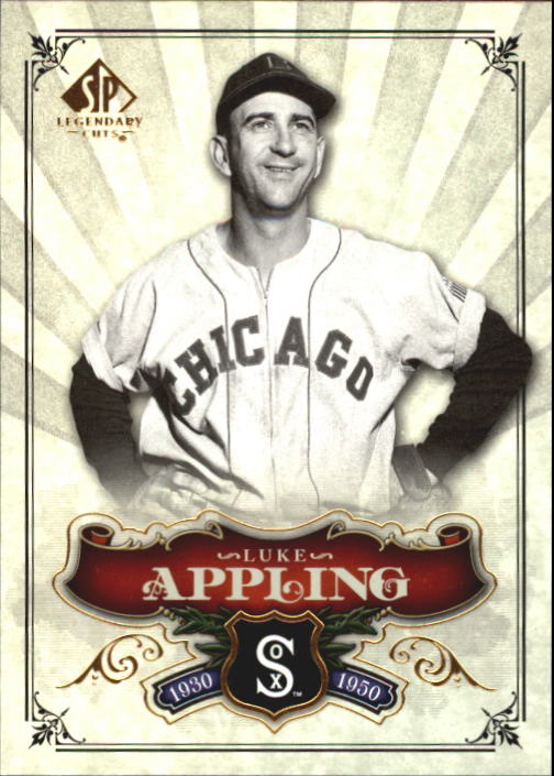 2006 SP Legendary Cuts #58 Luke Appling front image