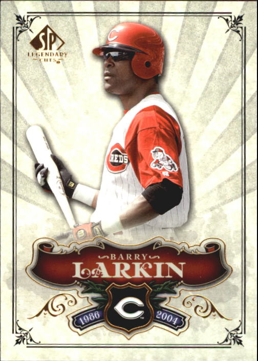 2006 SP Legendary Cuts #65 Barry Larkin