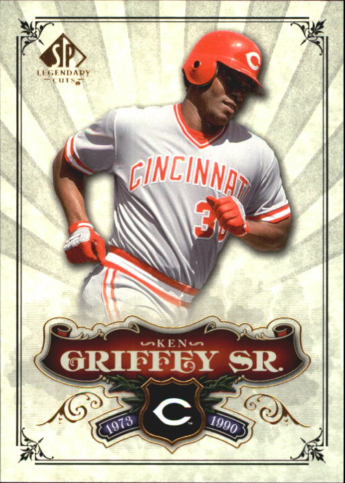 2006 SP Legendary Cuts #73 Ken Griffey Sr.