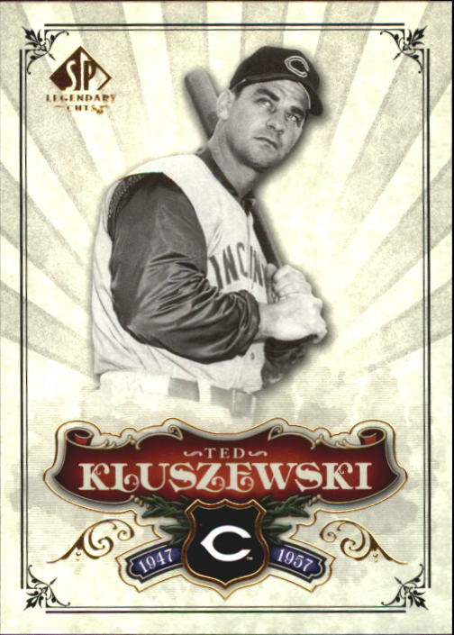 2006 SP Legendary Cuts #74 Ted Kluszewski