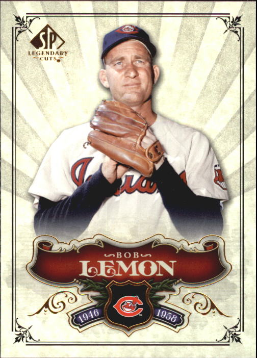 2006 SP Legendary Cuts #78 Bob Lemon