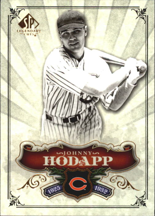 2006 SP Legendary Cuts #81 Johnny Hodapp
