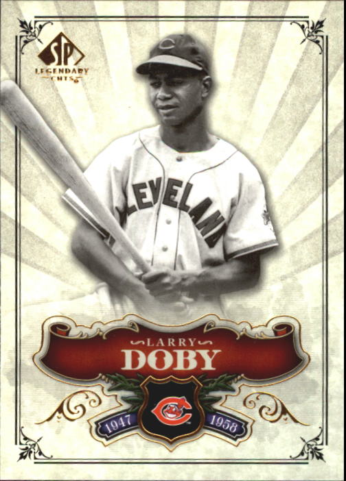 2006 SP Legendary Cuts #82 Larry Doby
