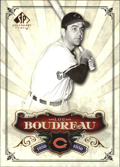 2006 SP Legendary Cuts #83 Lou Boudreau