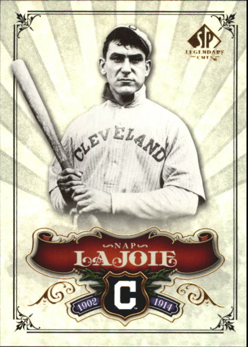 2006 SP Legendary Cuts #86 Nap Lajoie