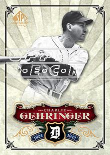 2006 SP Legendary Cuts #89 Charlie Gehringer