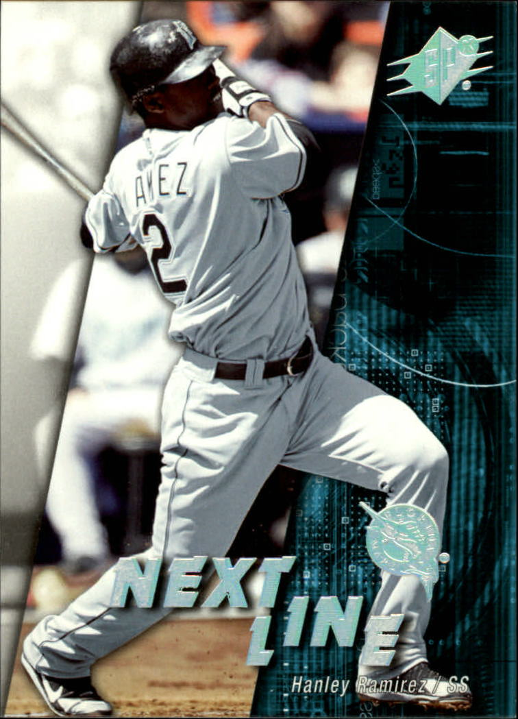 2006 SPx Next In Line #HR Hanley Ramirez