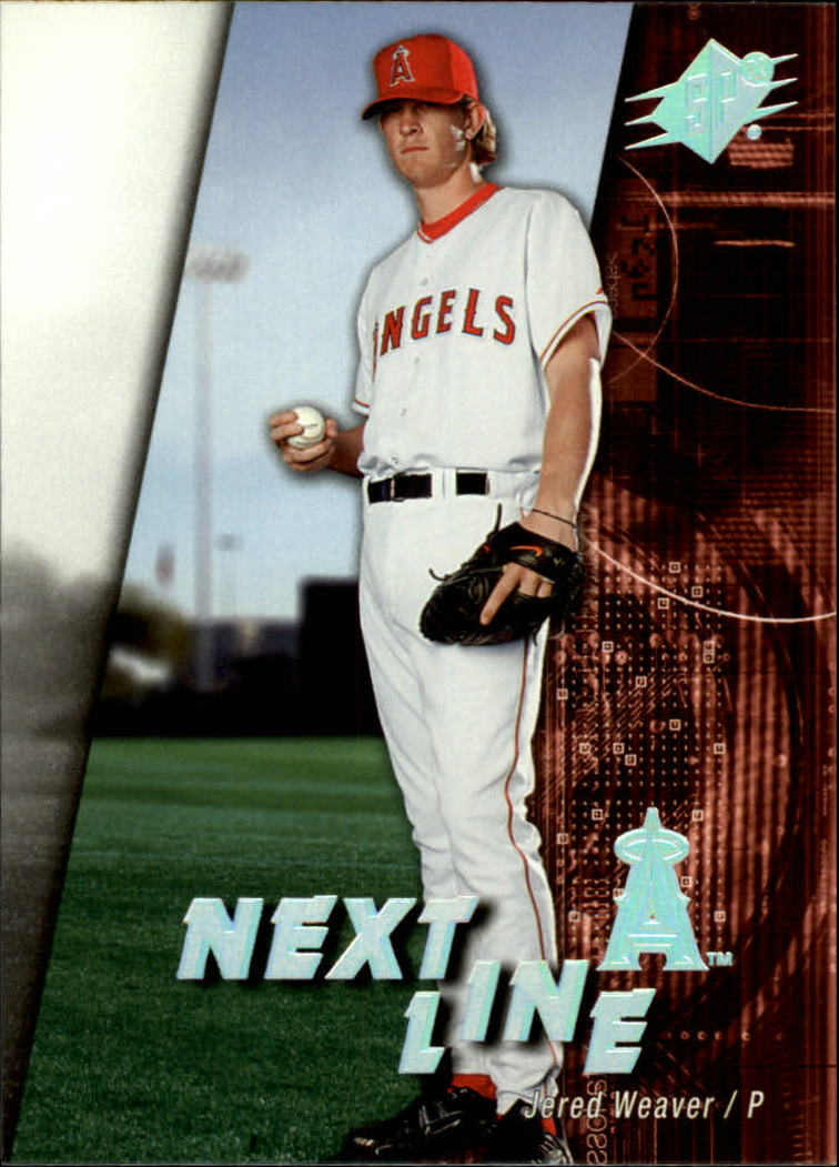 2006 SPx Next In Line #JE Jered Weaver front image
