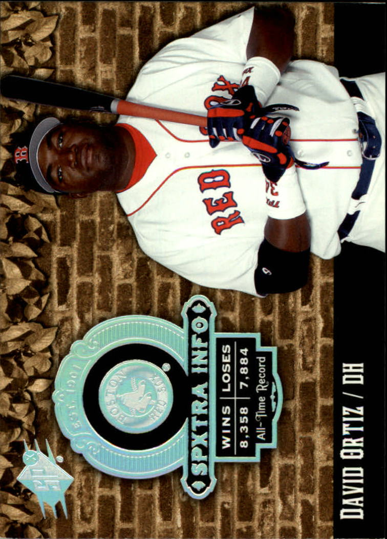 2006 SPx SPxtra Info #DO David Ortiz