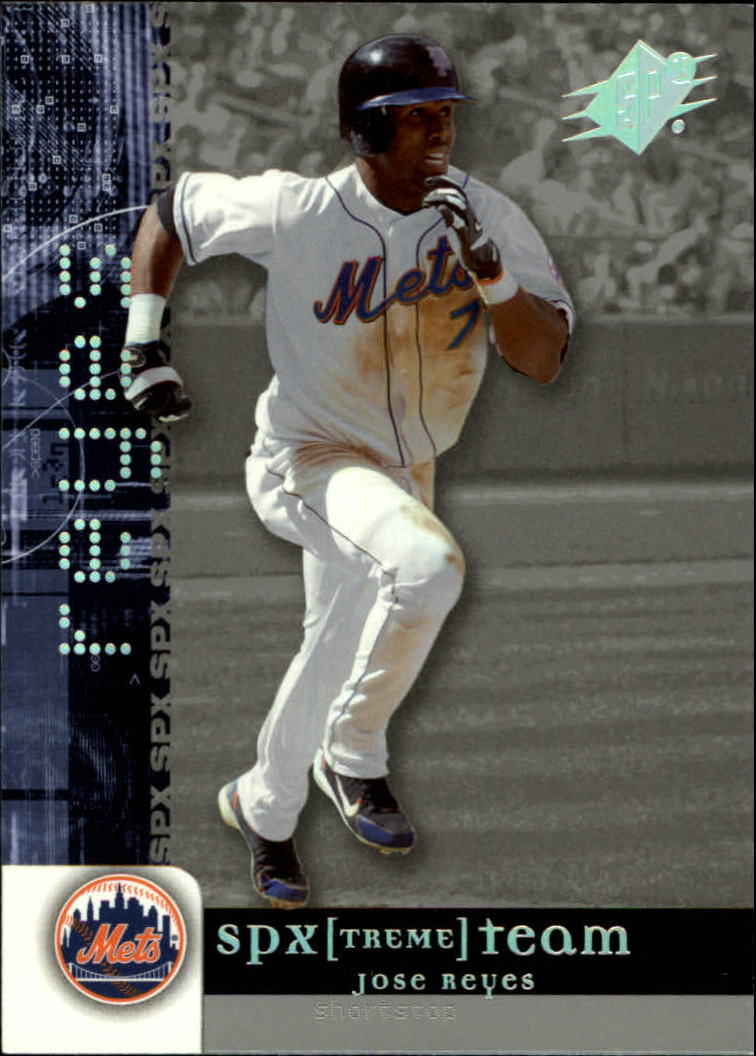 2006 SPx SPxtreme Team #JR Jose Reyes