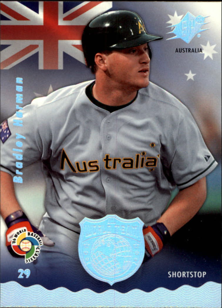 2006 SPx WBC All-World Team #2 Bradley Harman