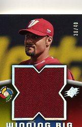 2006 SPx Winning Big Materials #JS Johan Santana/40
