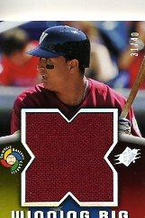 2006 SPx Winning Big Materials #VM Victor Martinez/40