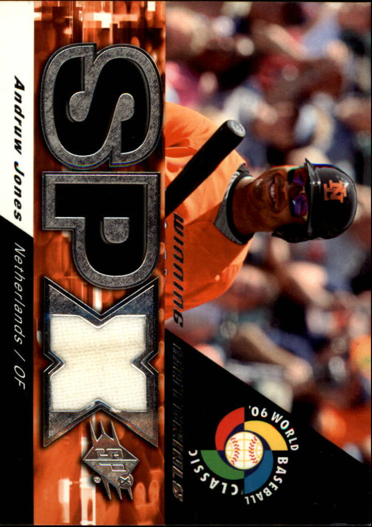 2006 SPx Winning Materials #AJ Andruw Jones