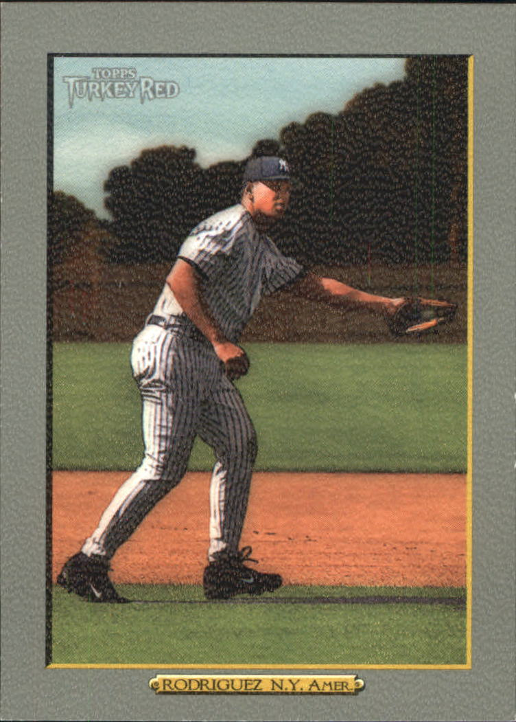 2006 Topps Turkey Red #316A Alex Rodriguez Yanks