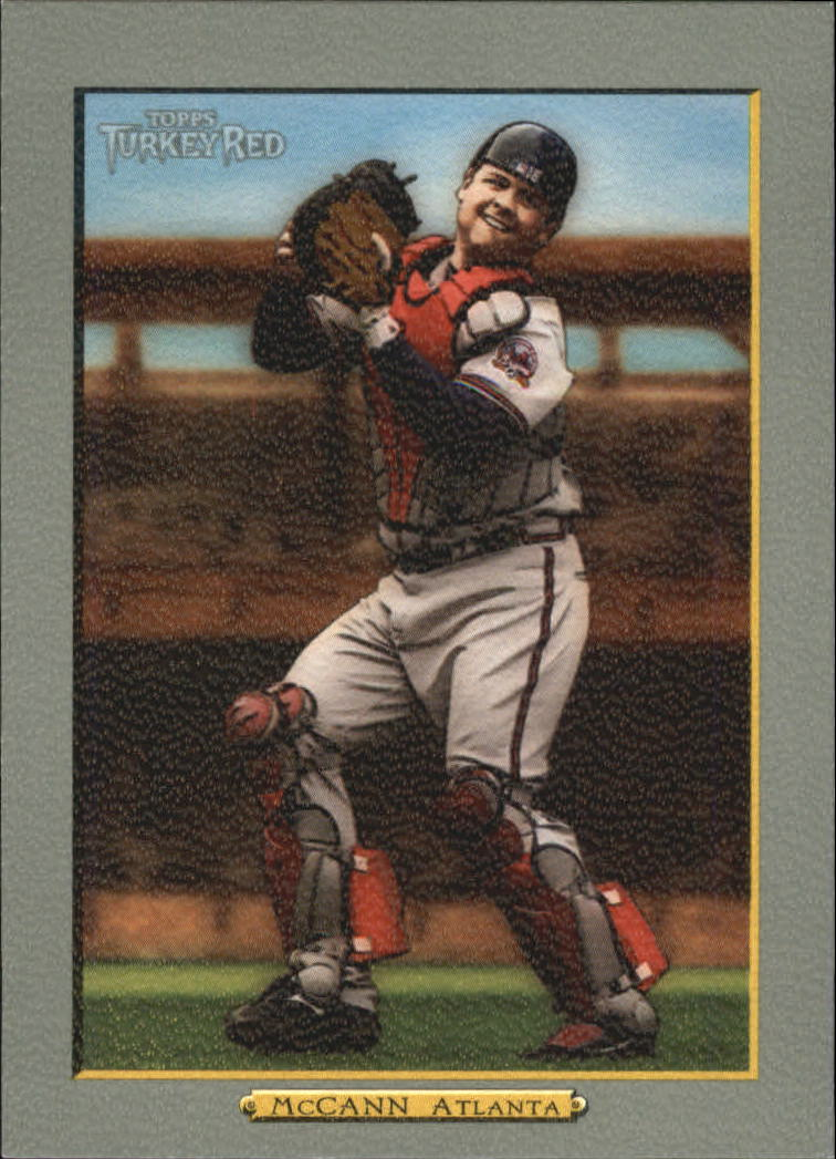 2006 Topps Turkey Red #433 Brian McCann