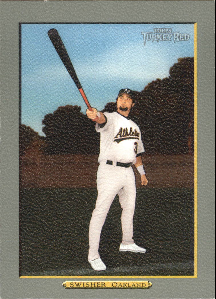 2006 Topps Turkey Red #449 Nick Swisher SP