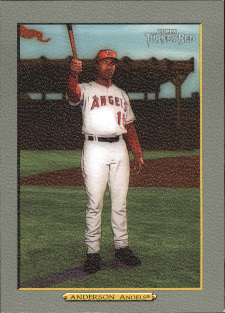 2006 Topps Turkey Red #488 Garret Anderson