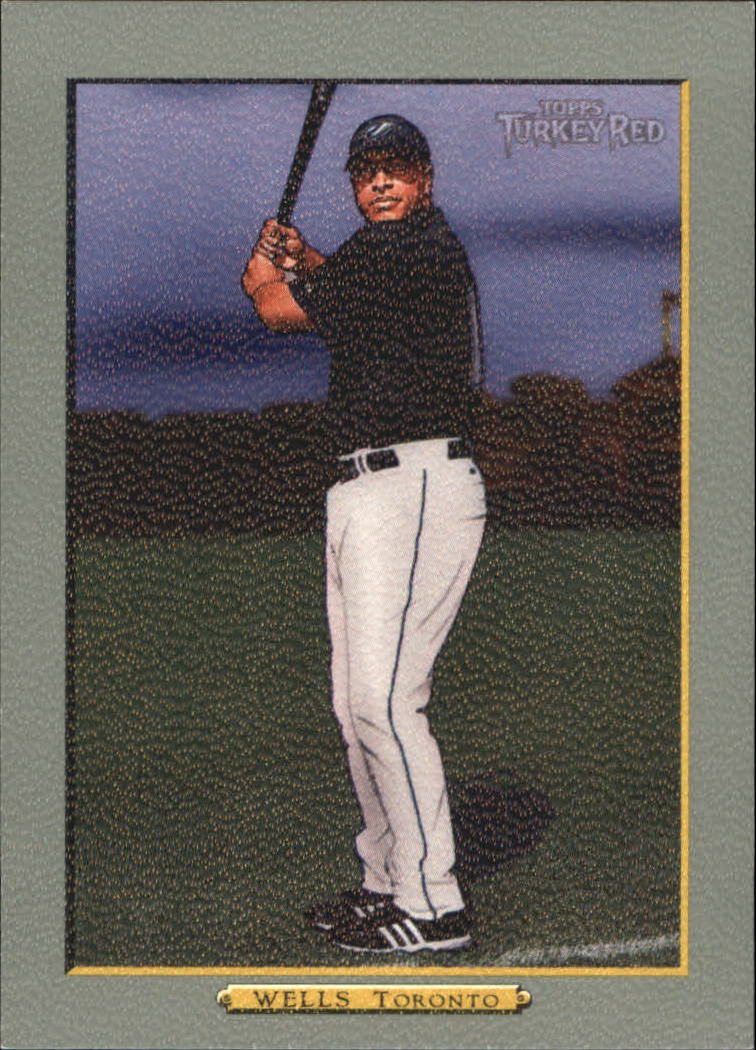 2006 Topps Turkey Red #560 Vernon Wells