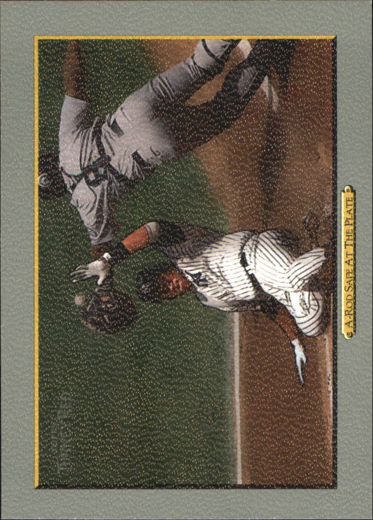 2006 Topps Turkey Red #571 A.Rod Safe at the Plate CL