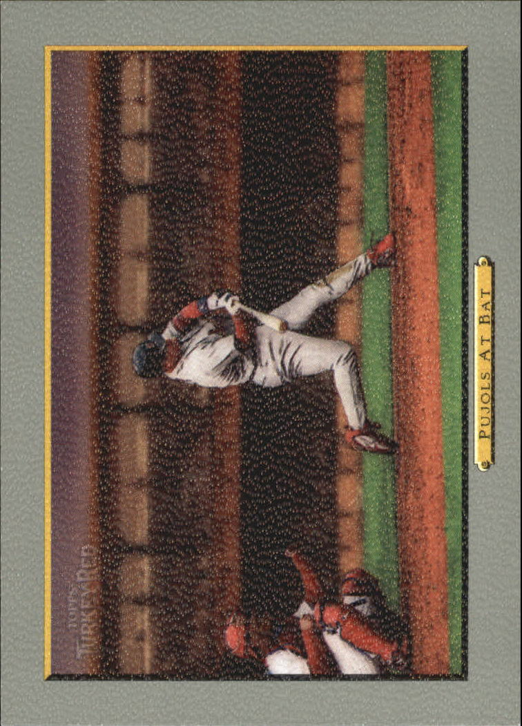 2006 Topps Turkey Red #572 Pujols At Bat CL
