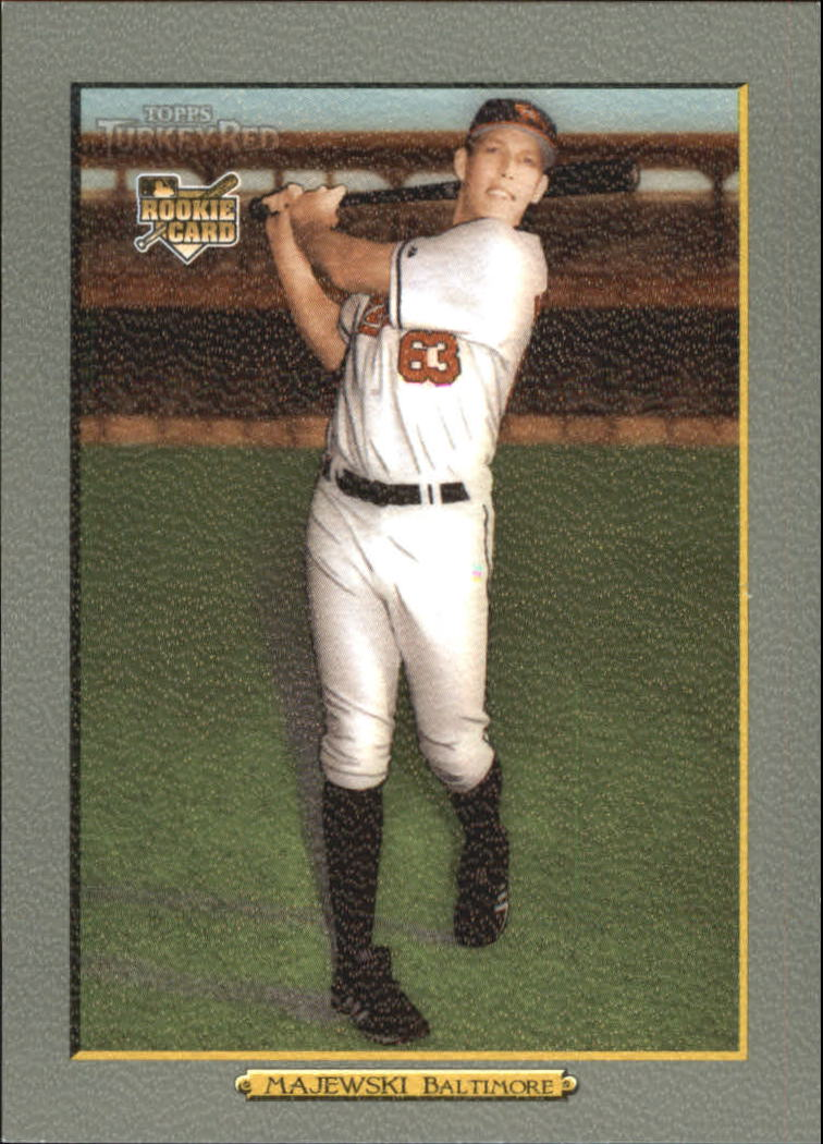 2006 Topps Turkey Red #600 Val Majewski (RC)
