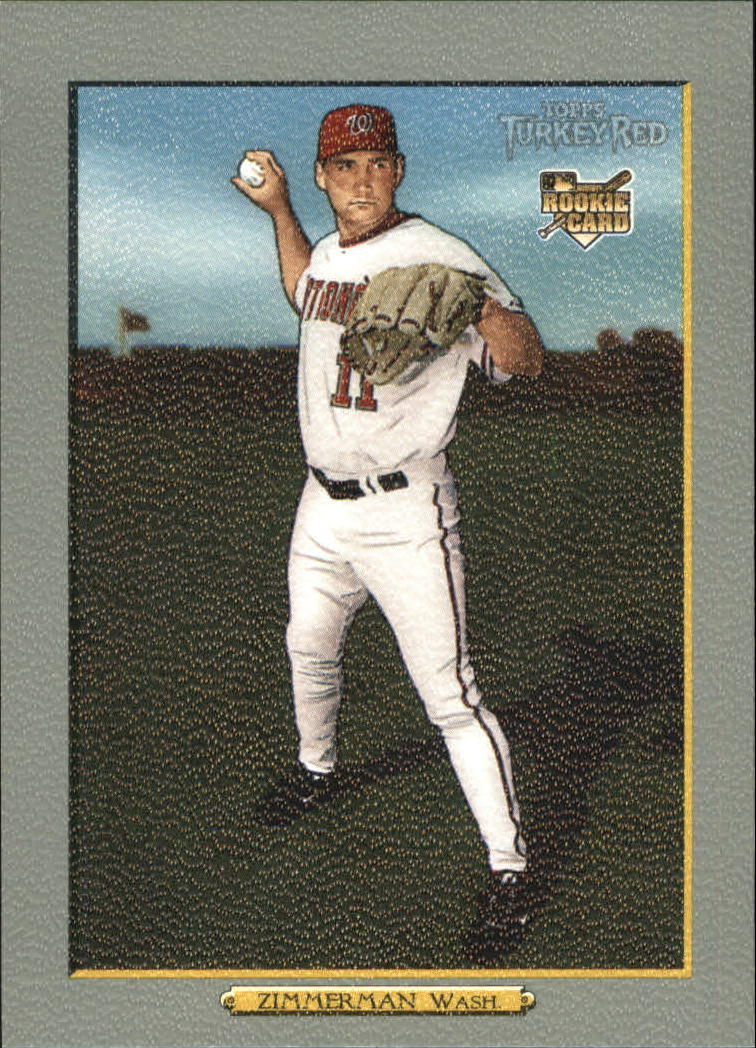 2006 Topps Turkey Red #606 Ryan Zimmerman (RC)