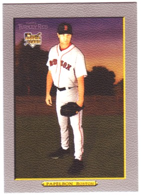2006 Topps Turkey Red #608 Jonathan Papelbon (RC)