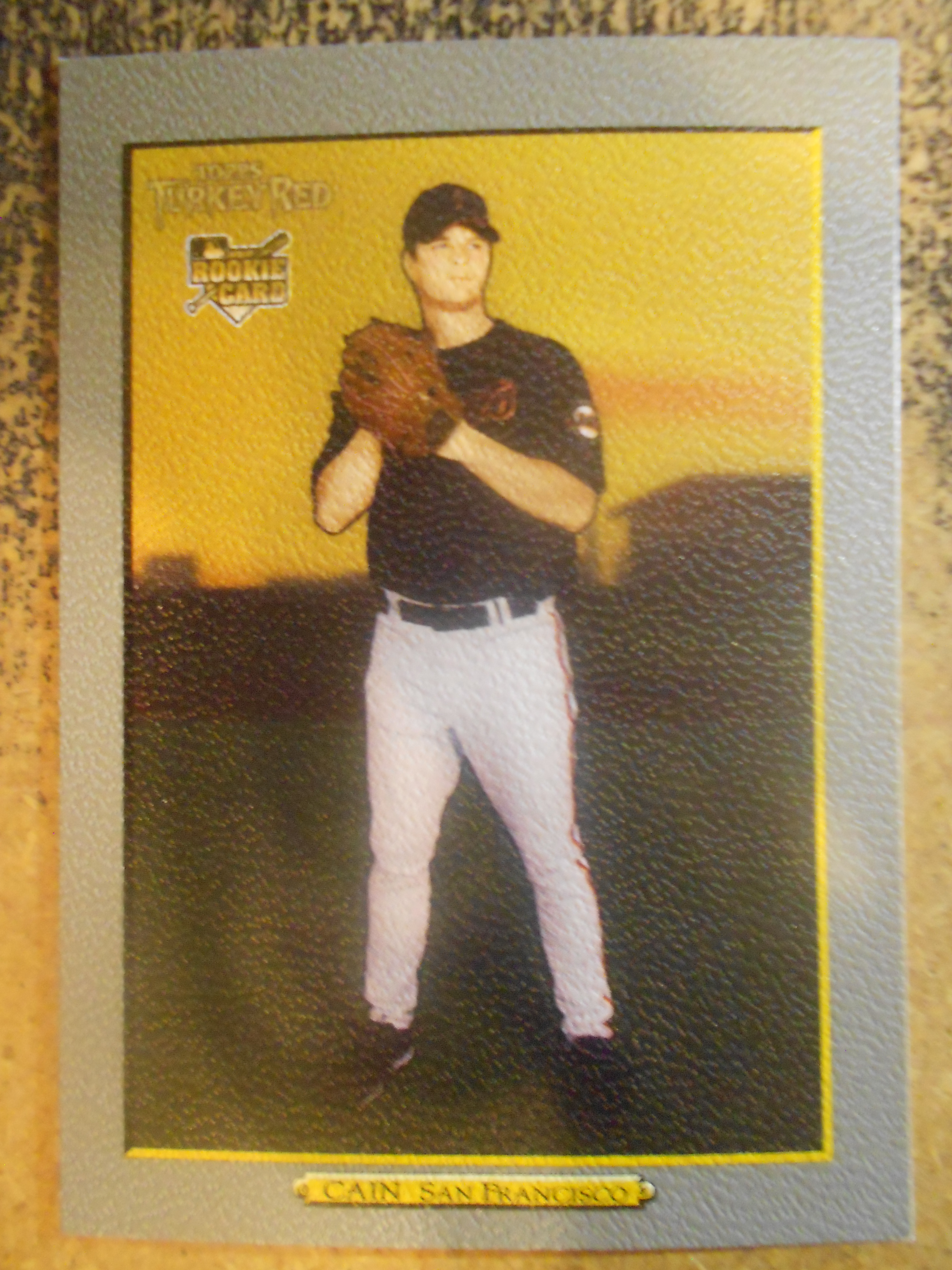 2006 Topps Turkey Red #609 Matt Cain (RC) front image