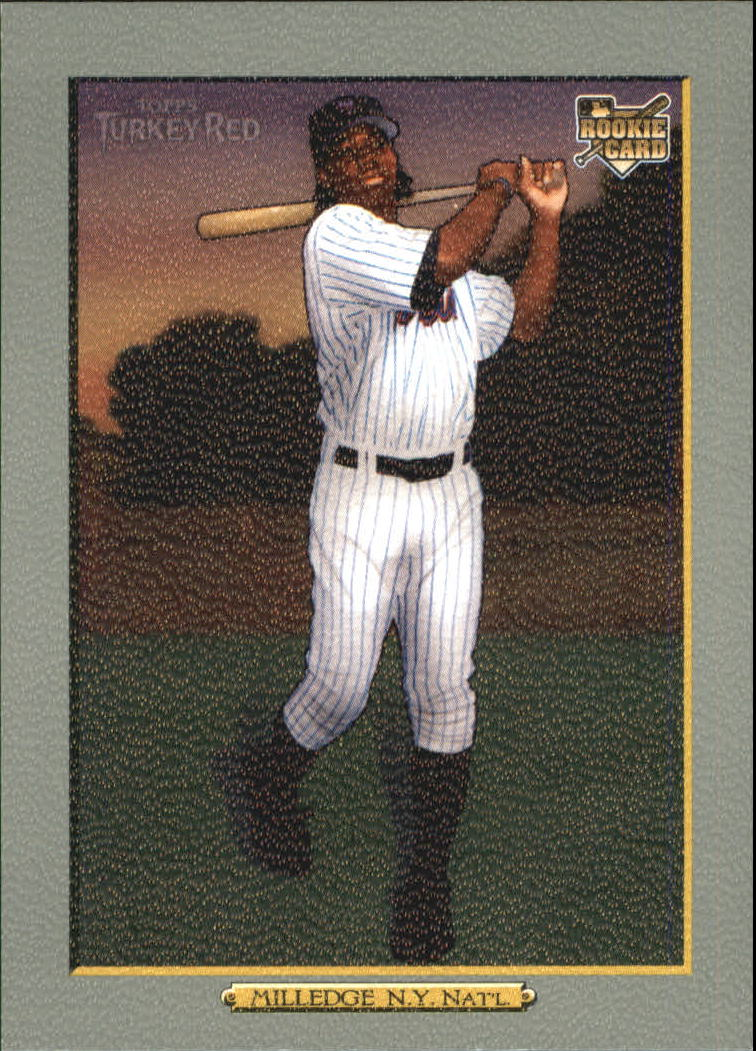 2006 Topps Turkey Red #612 Lastings Milledge (RC)