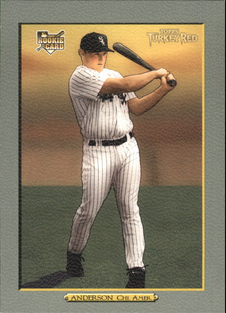 2006 Topps Turkey Red #615 Brian Anderson (RC)
