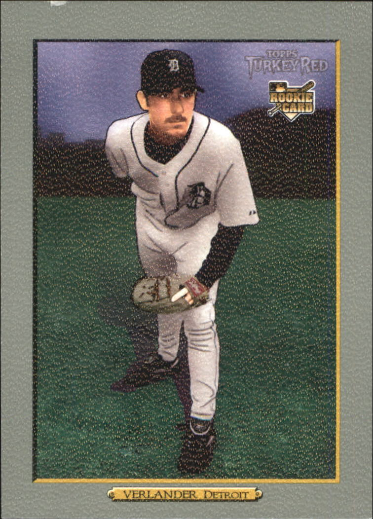 2006 Topps Turkey Red #630 Justin Verlander (RC)