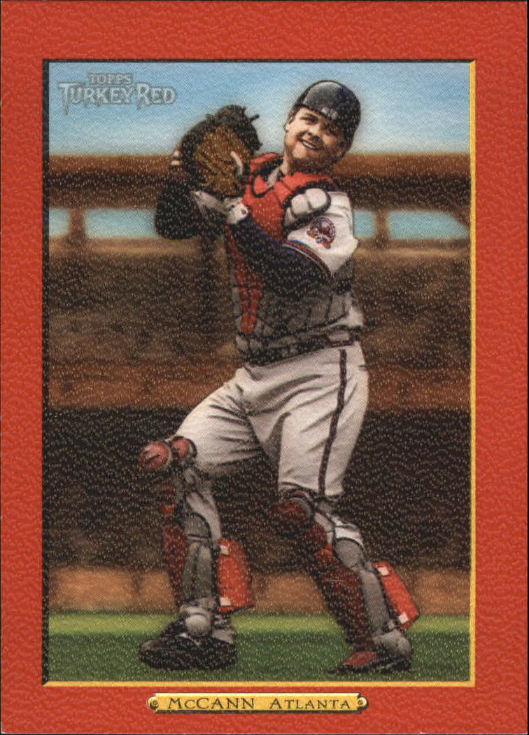 2006 Topps Turkey Red Red #433 Brian McCann