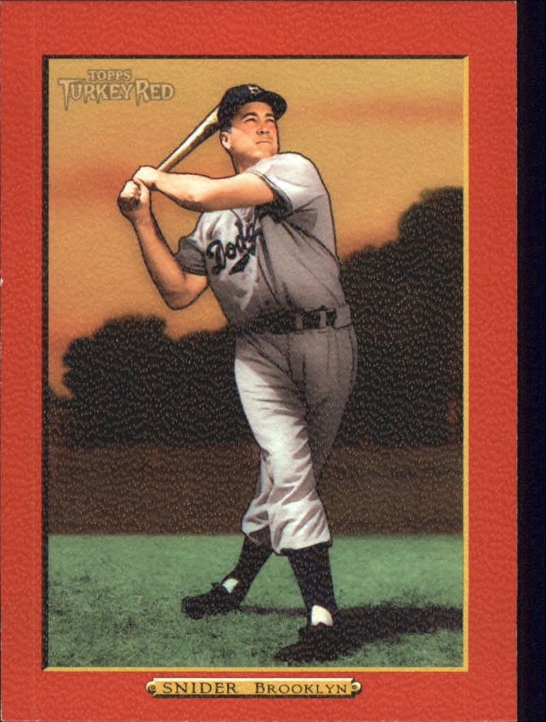 2006 Topps Turkey Red Red #584 Duke Snider