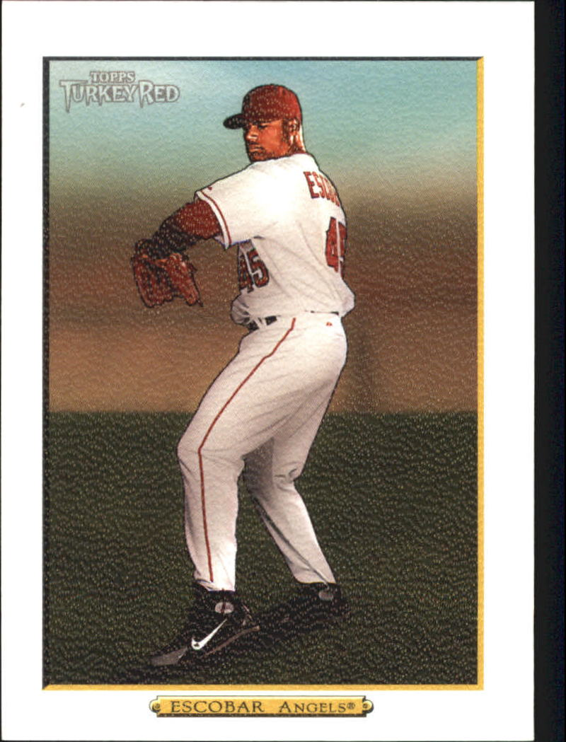 2006 Topps Turkey Red White #536 Kelvim Escobar