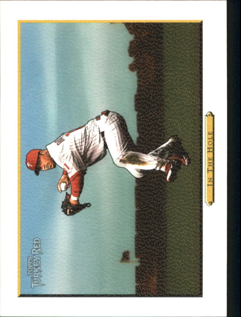 2006 Topps Turkey Red White #579 In The Hole CL