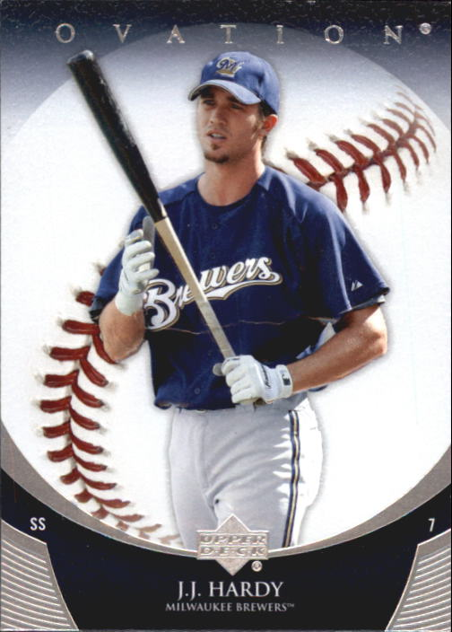 2006 Upper Deck Ovation #18 J.J. Hardy