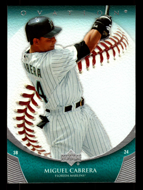2006 Upper Deck Ovation #40 Miguel Cabrera