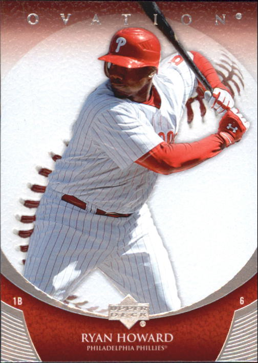 2006 Upper Deck Ovation #56 Ryan Howard