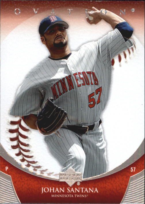 2006 Upper Deck Ovation #75 Johan Santana