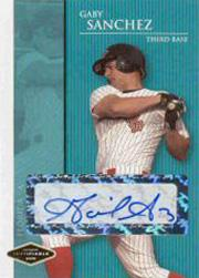 2006 Justifiable Autographs #38 Gaby Sanchez/775*